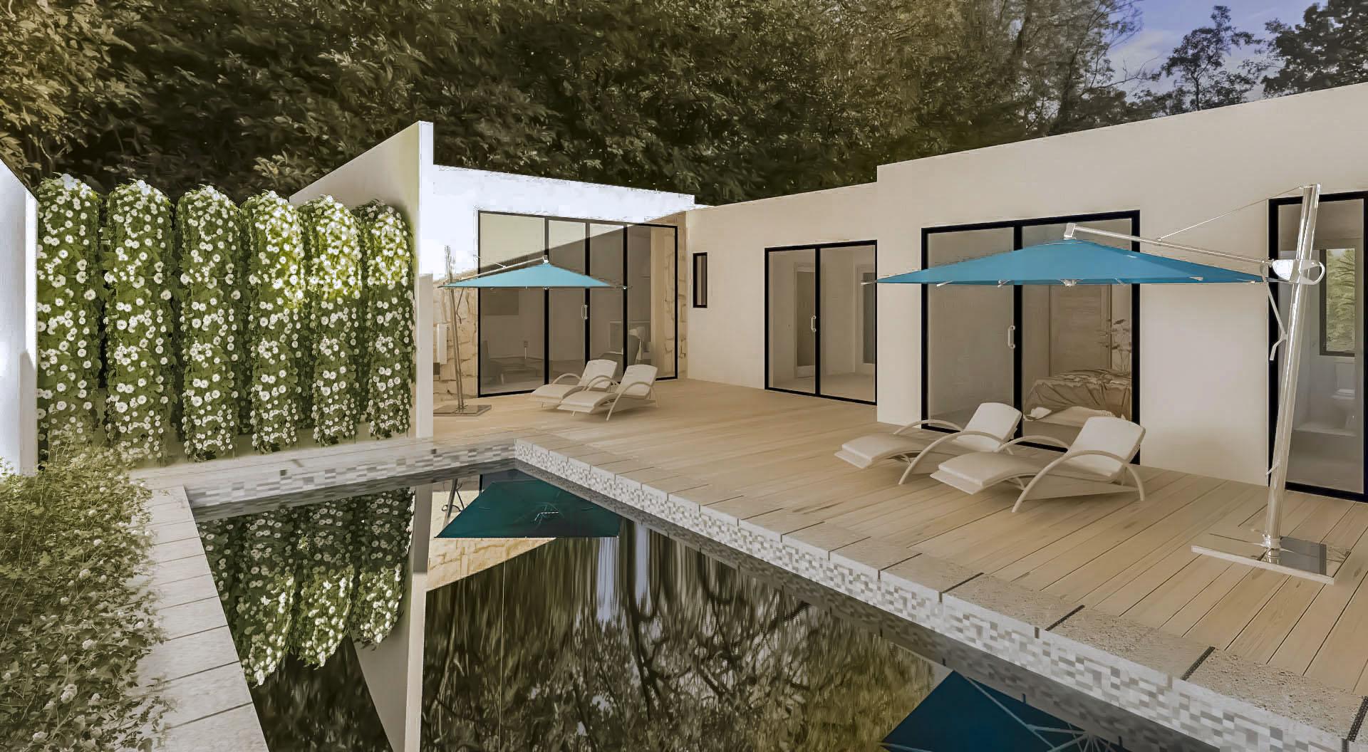 20-01-04-VV Villa to build 102 m² Garden 218 m²