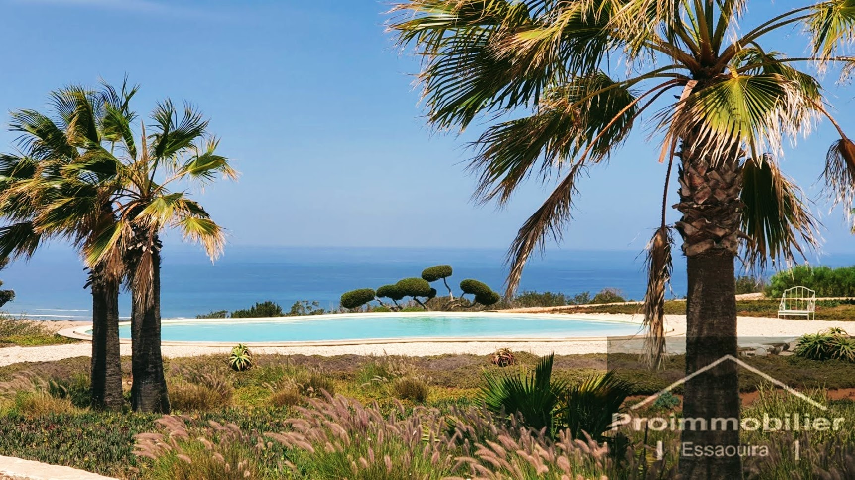 21-06-06-VMH  Wonderful Luxury Guest House for sale in Essaouira in the countryside of 1000 m² with a sea view, Land 54400 m²