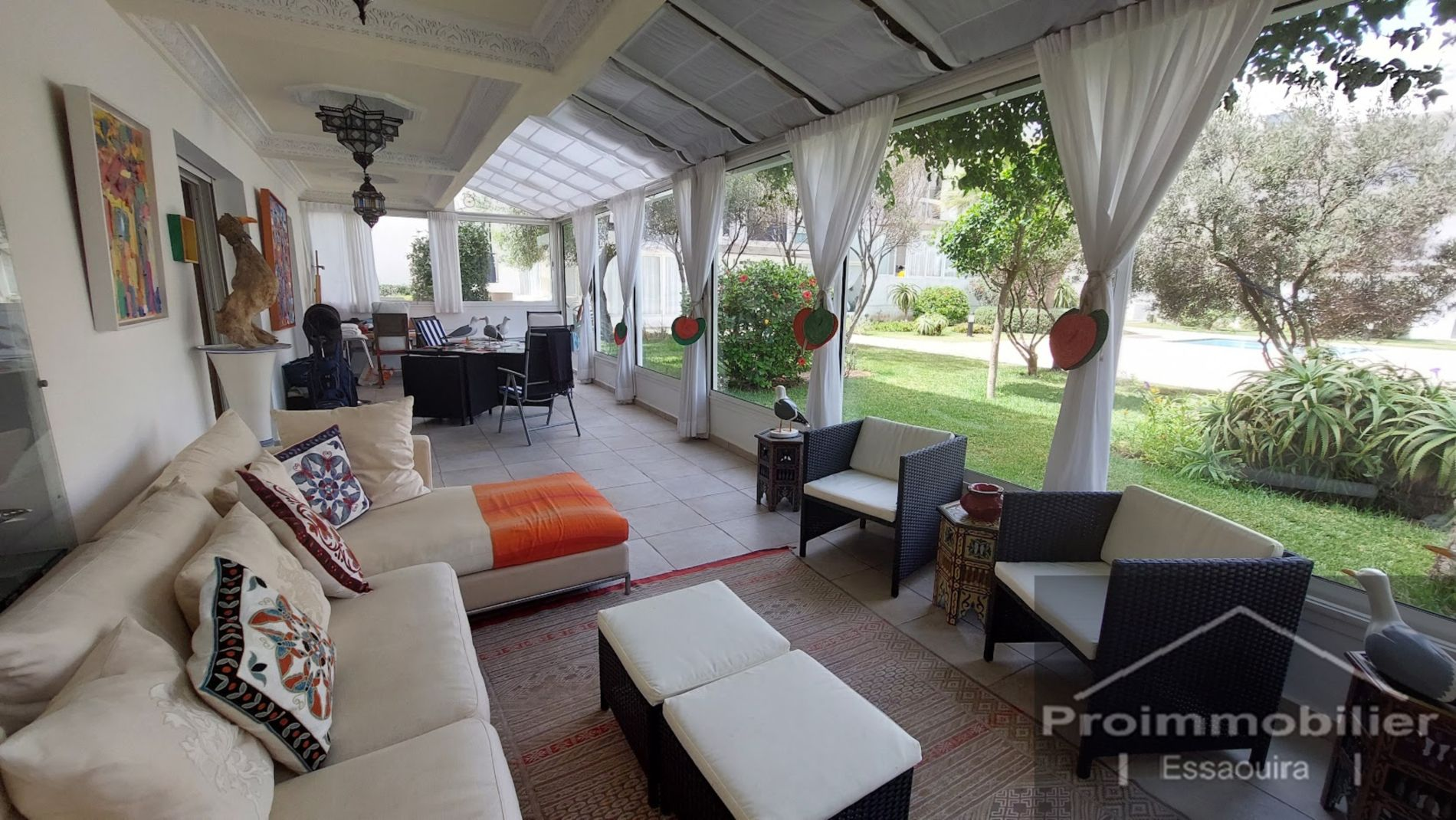 21-07-01-VA Amazing apartment for sale in Essaouira in a residence of 134 m² with terrace