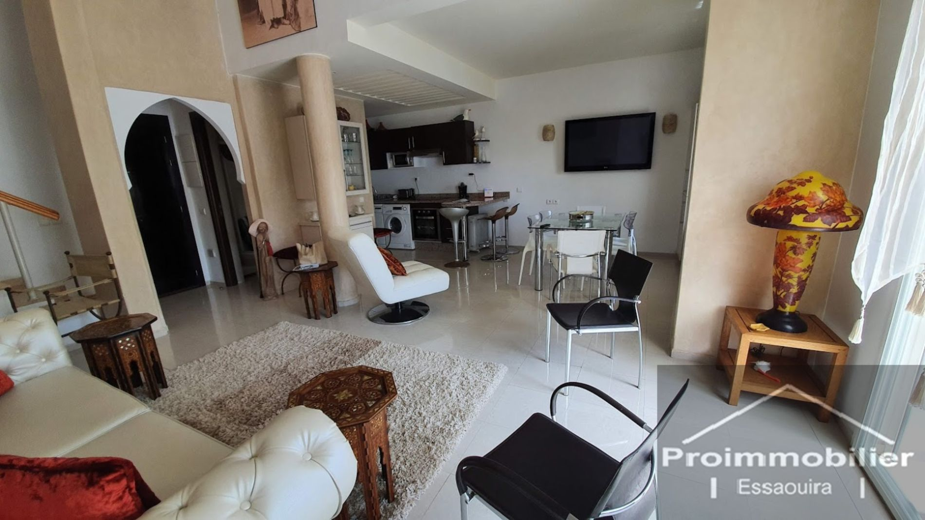 21-07-04-VA Loft for sale in Essaouira  90 m² on the seaside with access to the pool