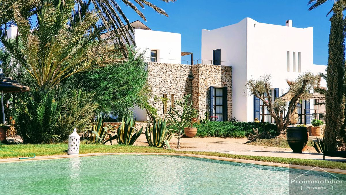 21-08-15-VV Amazing Luxury Guest House for sale in Essaouira 370m²  Garden 2700 m²
