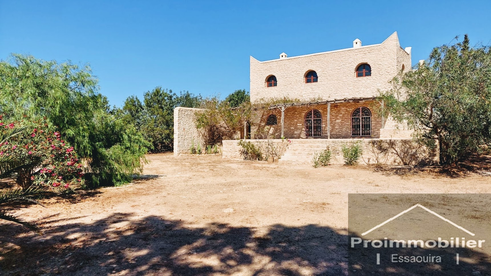 21-09-01-VM  Beautiful Country House for sale in Essaouira 280m² Garden 3099 m² Provisional avna in progress